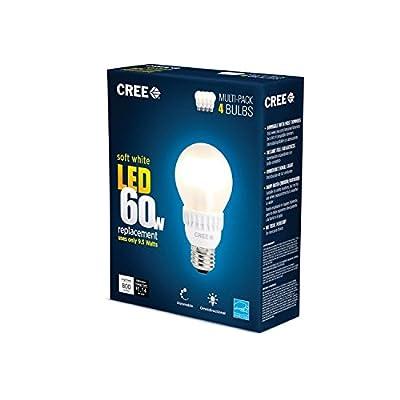 Cree BA19-08027OMF-12DE26-2U100 60W Equivalent 2700K A19 LED Light Bulb