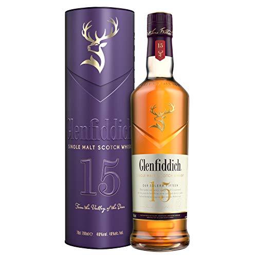 Glenfiddich 15 YO Gift Tin - 40{3f2b8c8e4683234e3b32f5558ba0822cf4fa59c9eba0af02182d932365bab822} Single Malt Whisky (1 x 700 ml)