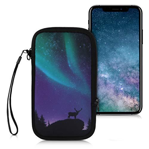 kwmobile Handytasche für Smartphones L - 6,5