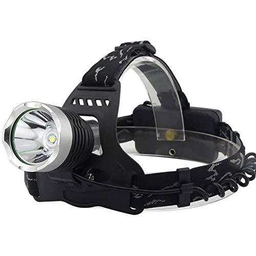 HKJZ SFLRW Linterna de Faros para Correr, Acampar, Lectura, Pesca, Caminar, Cabezal de Jogging luz Duradera (luz Blanca)
