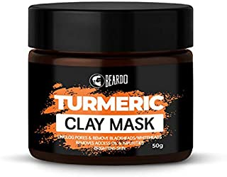 BEARDO Turmeric Clay Mask For Men, 50 g