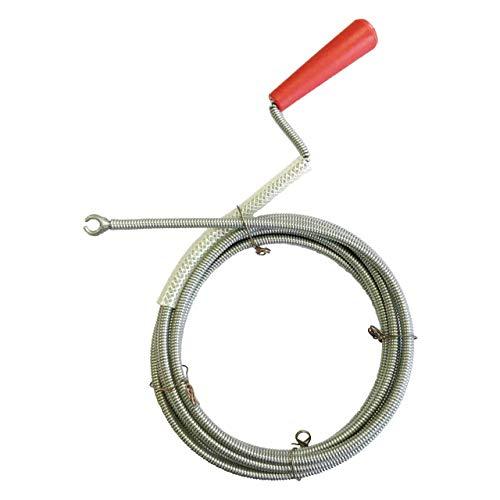 Rohrreinigungsspirale Ø 6mm x 3m mit Kralle