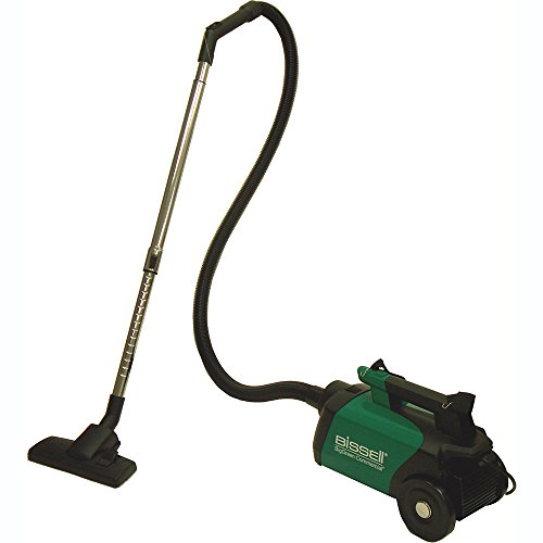 Bissell BigGreen Commercial BGC3000 Portable Canister Vacuum, Green, Black