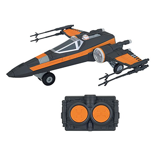 Star Wars Episode VII - Véhicule radiocommandé sonore et lumineux Poes X-Wing Fighter 26 cm