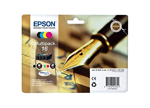 C13T16264010 Epson WorkForce WF-2010W Cartucho de Tinta negro/color