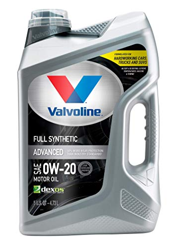 Valvoline Advanced Full Synthetic SAE 0W-20 Motor...