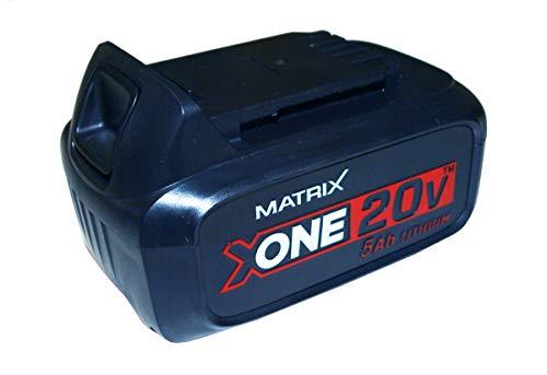 MATRIX X-One Akku Ersatzakku Systemakku für X-One/Power 20 20 V - 5 Ah Kapazität