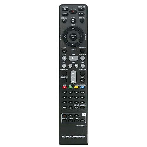AKB73775809 Fernbedienung für LG Smart 3D Blu-ray DVD Home Cinema System BH6230C BH6230S BH6240S BH6330H BH6340H BH6430P BH6440P BH6530D BH6530T BH6540T BH6720S BH6730P BH6730S BH6730T