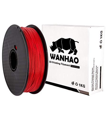 PLA PREMIUM ROSSO WANHAO 1KG/1,75mm - Filamento per stampante 3D FDM