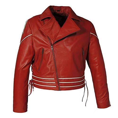 Style Up Ltd Freddie Mercury Queen Concierto Disfraz Casual Wear Chaqueta de piel sinttica