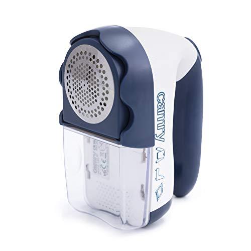 CAMRY CR 9606, CR9606, Fusselrasierer, mit Batterie-oder Netzbetrieb, mit Klingen aus Edelstahl, 1,5 W, 0 Dezibel, aus Polymer, Farbe: blau