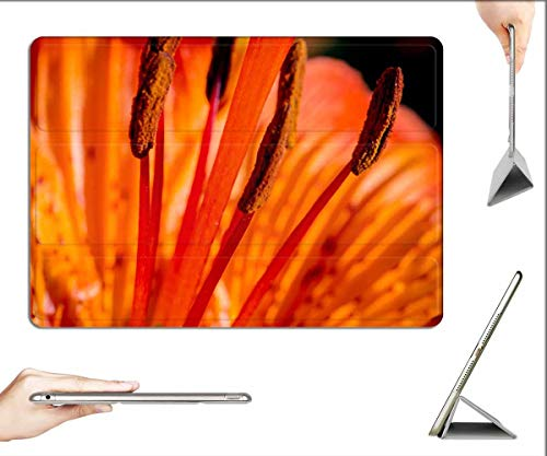 Case for iPad Pro 12.9 inch 2020 & 2018 - Fire-Lily Lilium Bulbiferum Stamen Anther Stylus 3