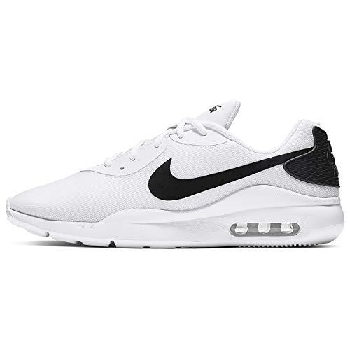 Nike Herren Air Max Oketo Turnschuh, weiß/schwarz, 42 EU