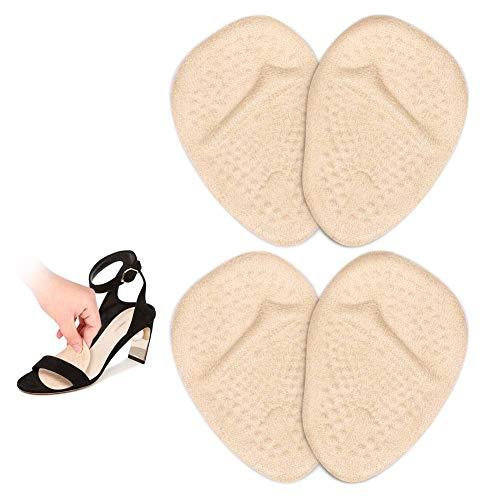Almohadillas Metatarsianas, Almohadillas Zapatos Tacon, Almohadillas del Antepié para Metatarsalgia, Morton Neuroma, Alivio del Dolor en el Pie, 2 Par