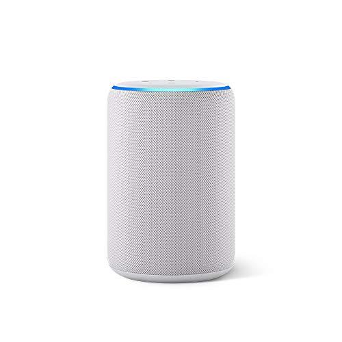 Nuevo Echo (3ra generación) – Bocina inteligente con Alexa – Gris claro