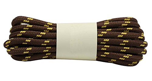Black Temptation 2 Paires 120cm Lacets Ronds Lacets Boot Chaussures Randonnée Lacets # 48