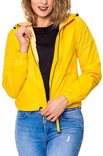 Only Onladdi Short Jacket Otw Chaqueta, Amarillo Solar Power, Medium para Mujer