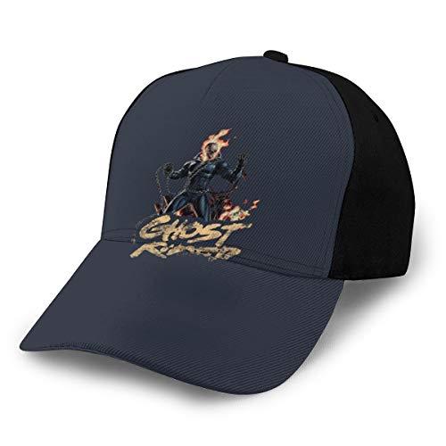 Ghost Rider - Gorra de béisbol, color negro