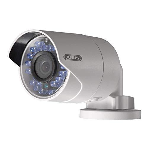 ABUS Überwachungskamera TVIP60000 - Full HD WLAN Kamera für den Innen- und Außenbereich - mit Nachtmodus und wetterfestem Gehäuse - 83638 - silber