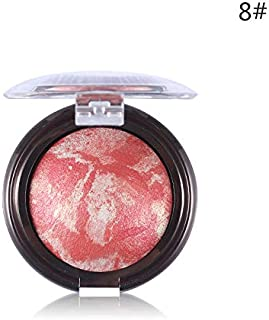 Shimmer Bronzer Highlight Powder Blush Palette Makeup Stardust-Multi Silky Smooth Mineral Baked Cheek Blusher