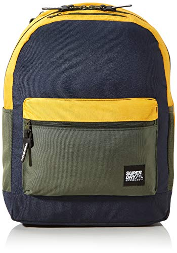 Superdry Herren City Pack Rucksack, Blau (Lauren Navy), 13.5x42x32 cm