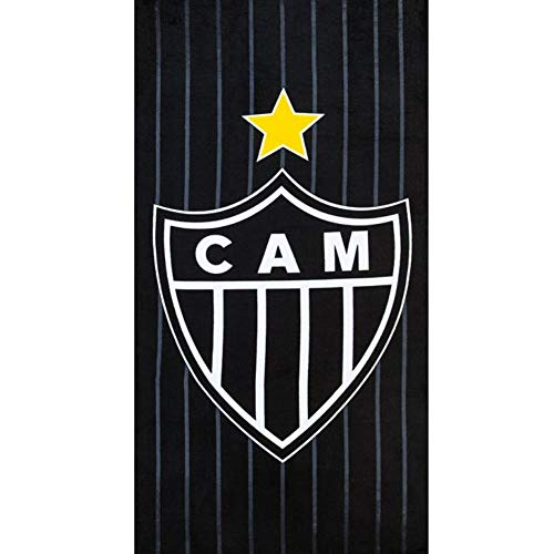 Clube Atletico Mineiro 07 Toalla de playa de terciopelo brasileño, 27.5 x 55 pulgadas