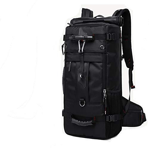 XQH Rucksack für Damen und Herren im Retro-Stil, Wandern, wasserdicht, für College/Reisen, Diebstahlschutz, mit USB-Anschluss, wasserdicht, große Kapazität, Computer-Rucksack