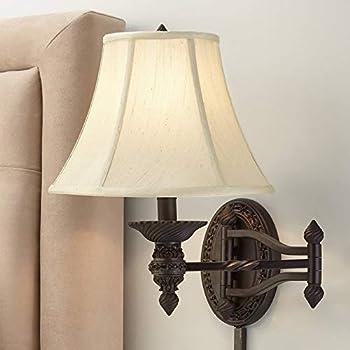 wall swing arm lamp
