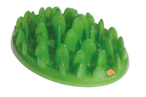 Alimentador interativo verde, grande