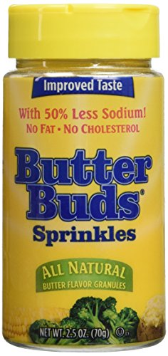 Butter Buds Sprinkles 2.5 Ounce (Pack of 2)
