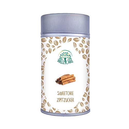 SweetCare Zucker Zimt, der Zuckerersatz mit Erythritol, Stevia und fein gemahlenem Ceylon Zimt die natürliche Alternative zu Zucker