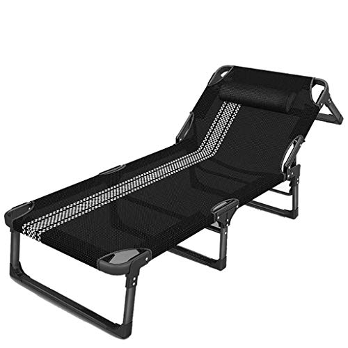 BD.Y Fauteuils inclinables pour transats, chaises Pliantes portatives multifonctionnelles Simples pour lit de déjeuner, Chaise de Bureau Chaise pour Pause déjeuner Chaise Chaise de Plage paresseu