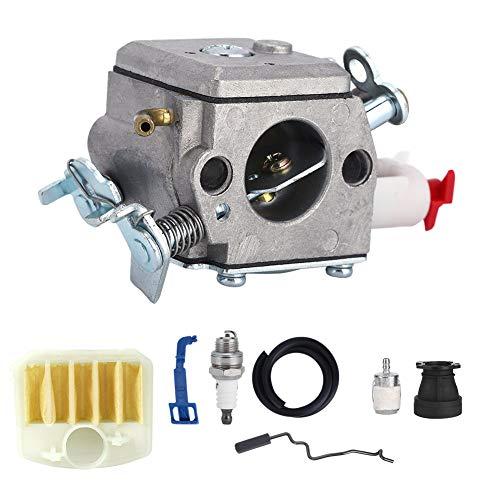 Duokon Kit de bujías de carburador para Herramientas de jardinería Husqvarna 350 346XP 353340345
