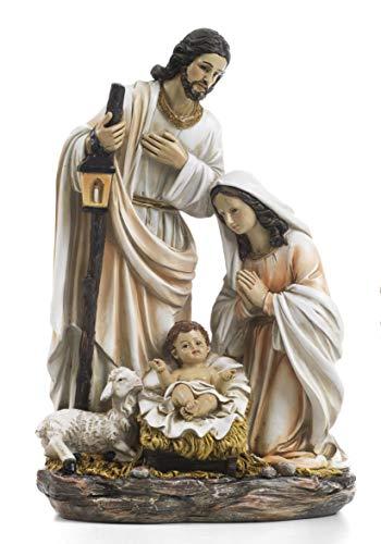 Paben Articoli Religiosi Gruppo Natività Presepe in Resina cm. 30,5