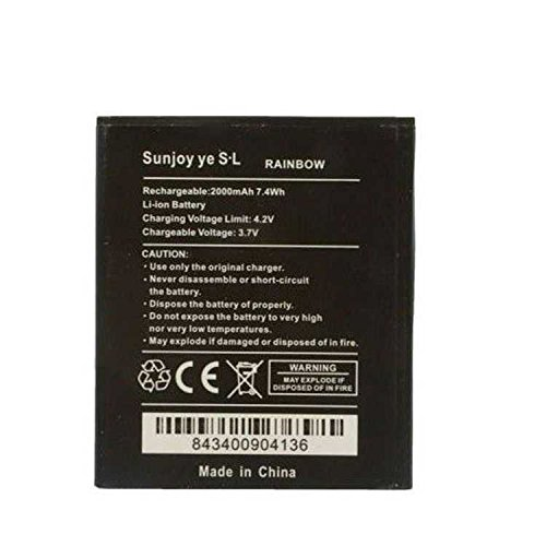 Todobarato24h Bateria Wiko S5254 / 5222 Wiko Barry/Bloom/Rainbow/Jam 3G 1800mAh, Bulk