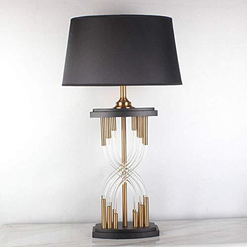 VIWIV Lámpara de escritorio para dormitorio, lámpara de escritorio de 40 cm x 40 cm x 77 cm