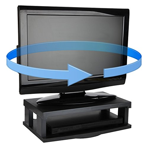 Trenton Gifts TV Swivel Stand | Supports Up to 250 Lbs | Black