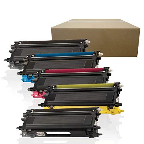 Inktoneram Compatible Toner Cartridges Replacement for Brother TN110 TN115 MFC-9440CN MFC-9450CDN MFC-9840CDW MFC-9870CDW HL-4040CDN HL-4040CN HL-4050CDN ([2-Black,Cyan,Magenta,Yellow], 5-Pack)