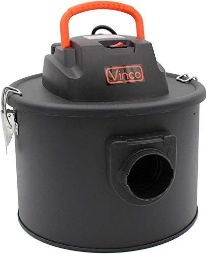 Mediawave Store 40176 - Aspirador de cenizas (11 L, 800 W, con función de soplado, para limpiar chimeneas, estufas, barbacoas y chimeneas, para aspirar cenizas, recipiente con filtro