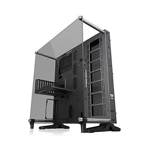 Thermaltake Core P5 Tempered Glass Ti Edition ATX Wall-Mount Chassis/CA-1E7-00M9WN-00 / PC Case con Vetro Temperato, Nero