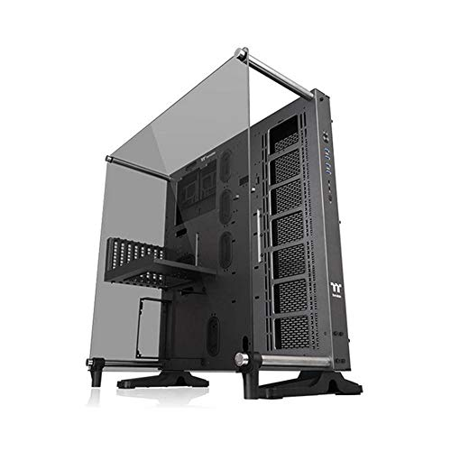 Thermaltake Core P5 Tempered Glass Ti Edition ATX Wall-Mount Chassis/CA-1E7-00M9WN-00 / PC Case con Vetro Temperato, Nero