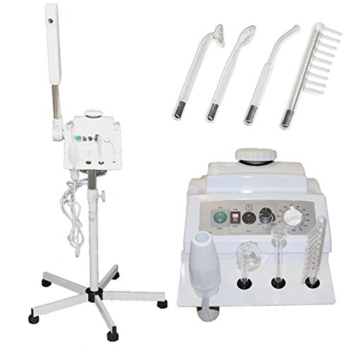 LCL Beauty 2 in 1 Aromatherapy Facial Steamer & High Frequency Machine for Salon Spa Beauty Equipment
