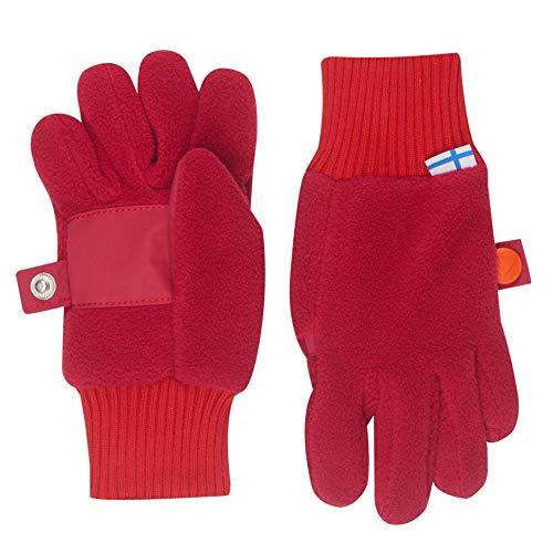 Finkid Sormikas persian red grenadine Kinder Winter Fleece Finger Handschuhe