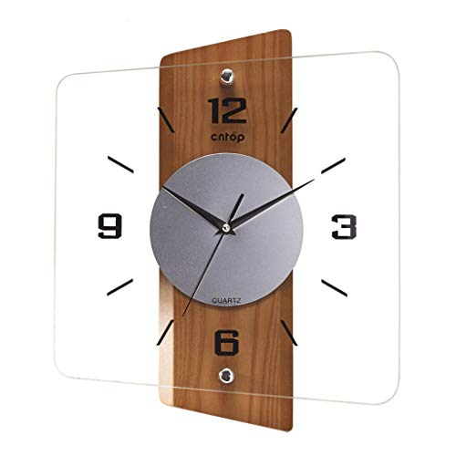 Horloge murale Contemporain et contracté Vogue Salon Horloge à quartz Originalité Horloge Europe Type Contemporain Personnage individuel est à la mode