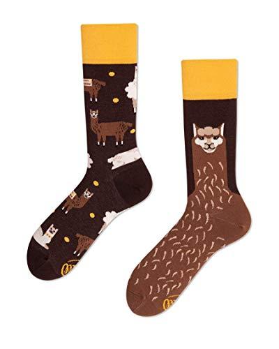 Many Mornings unisex Socken Fluffy Alpaca (43-46)