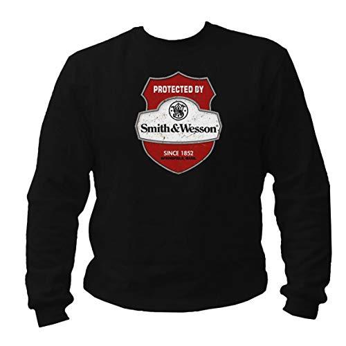 Tex-Ha Smith&Wesson Amerika schwarz Sweatshirt Pullover (S)