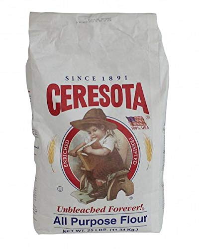Ceresota Unbleached Forever All Purpose Flour 25lb bag