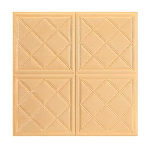 Piedra de Ladrillo Paneles de Pared Autoadhesivos 3D Faux Textured Stone Ladrillo Pared Casa Cocina Pared Decorativa Murales Murales Retro Papel Pintado Autoadhesivo Ladrillo Cultural