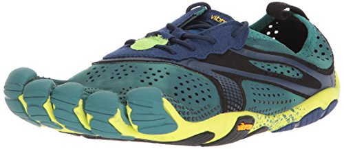 Vibram FiveFingers V-Run, Chaussures de Running Homme, Turquoise (North Sea/Navy), 40 EU