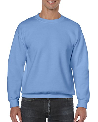 Gildan Men's Fleece Crewneck Sweatshirt, Style G18000, Carolina Blue, X-Large